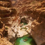 Wadi Shab Photo by: Michael Helfrick