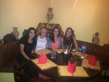 Tara, Me, Jessica, and Sarah at Pavo Real