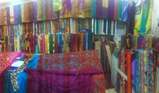 Fabric everywhere.....