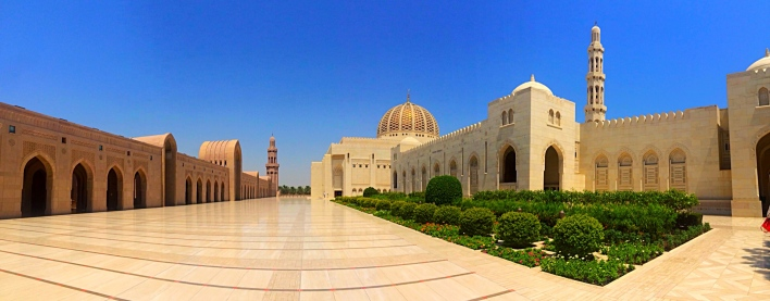 Sultan Qaboos Grand Mosque. Beautiful!