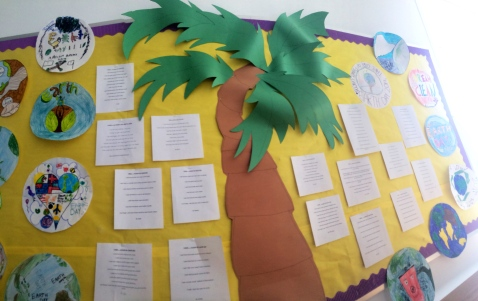 More poems written by 4th graders celebrating Earth Day.