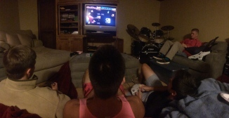 I missed my friends and mario cart